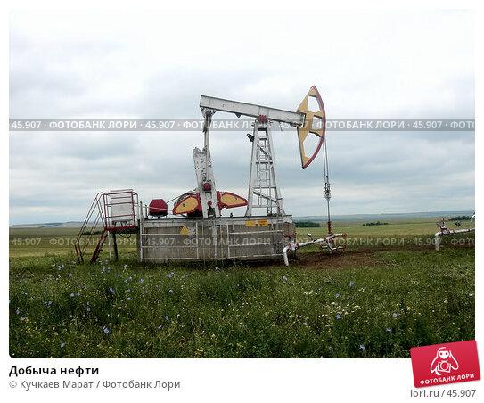 Добыча нефти, фото № 45907, снято 1 июля 2006 г. (c) Кучкаев Марат / Фотобанк Лори