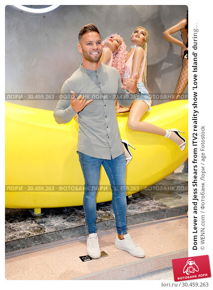 Dom Lever and Jess Shears from ITV2 reality show 'Love Island' during... (2017 год). Редакционное фото, фотограф WENN.com / age Fotostock / Фотобанк Лори