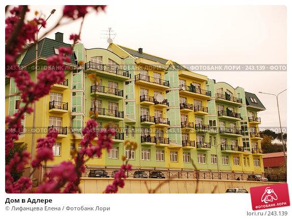 Купить «Дом в Адлере», фото № 243139, снято 21 апреля 2018 г. (c) Лифанцева Елена / Фотобанк Лори