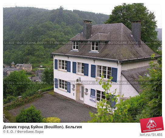 Домик город Буйон (Bouillon). Бельгия, фото № 51455, снято 7 июня 2007 г. (c) Екатерина Овсянникова / Фотобанк Лори