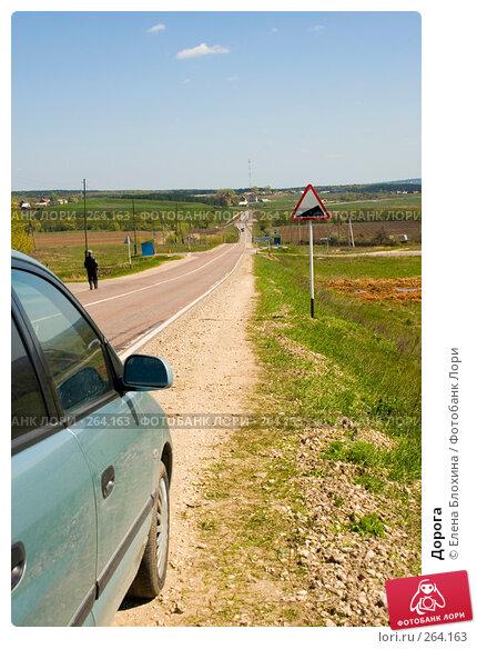 Дорога, фото № 264163, снято 25 апреля 2008 г. (c) Елена Блохина / Фотобанк Лори