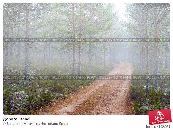 Дорога. Road, фото № 192051, снято 23 сентября 2006 г. (c) Валентин Мосичев / Фотобанк Лори