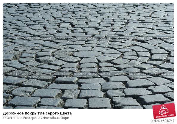 Купить «Дорожное покрытие серого цвета», фото № 323747, снято 15 апреля 2008 г. (c) Останина Екатерина / Фотобанк Лори