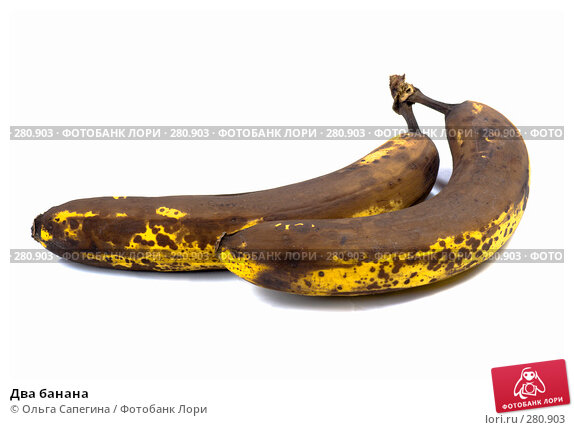Купить «Два банана», фото № 280903, снято 23 марта 2008 г. (c) Ольга Сапегина / Фотобанк Лори