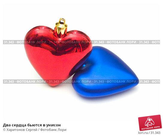 Купить «Два сердца бьются в унисон», фото № 31343, снято 23 января 2007 г. (c) Харитонов Сергей / Фотобанк Лори