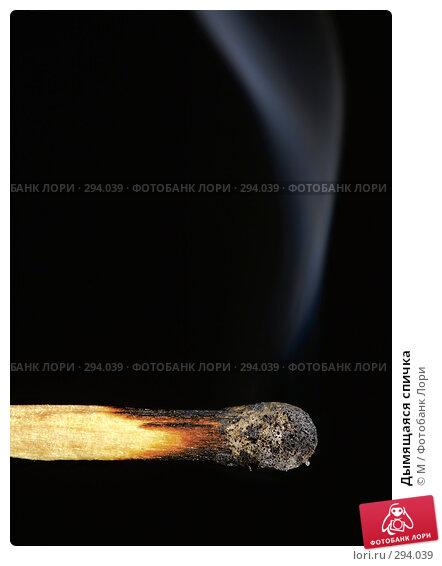 Дымящаяся спичка, фото № 294039, снято 24 марта 2017 г. (c) Михаил / Фотобанк Лори