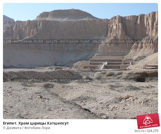 Египет. Храм царицы Хатшепсут, фото № 324275, снято 12 января 2008 г. (c) Дживита / Фотобанк Лори