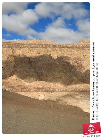 Египет. Синайский полуостров. Цветной каньон, фото № 225967, снято 20 февраля 2008 г. (c) АЛЕКСАНДР МИХЕИЧЕВ / Фотобанк Лори