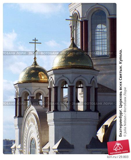 Купить «Екатеринбург. Церковь всех Святых. Купола.», фото № 29803, снято 23 марта 2007 г. (c) Julia Nelson / Фотобанк Лори