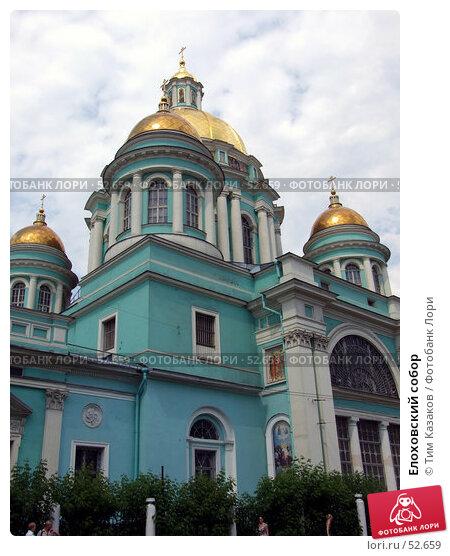 Елоховский собор, фото № 52659, снято 14 июня 2007 г. (c) Тим Казаков / Фотобанк Лори