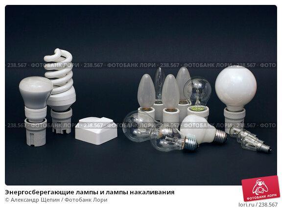 Энергосберегающие лампы и лампы накаливания, эксклюзивное фото № 238567, снято 26 марта 2008 г. (c) Александр Щепин / Фотобанк Лори