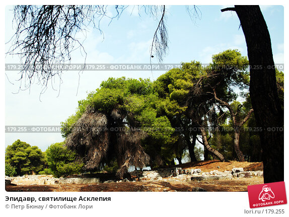 Эпидавр, святилище Асклепия, фото № 179255, снято 8 октября 2007 г. (c) Петр Бюнау / Фотобанк Лори