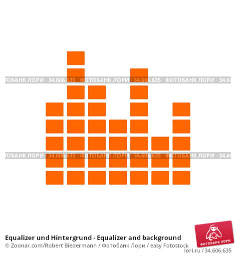 Equalizer und Hintergrund - Equalizer and background. Стоковое фото, фотограф Zoonar.com/Robert Biedermann / easy Fotostock / Фотобанк Лори