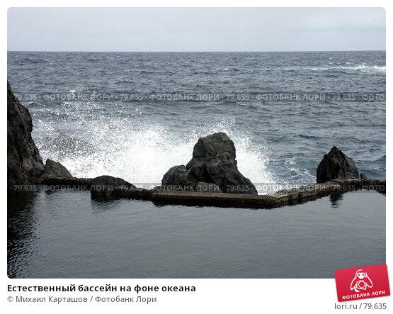 Естественный бассейн на фоне океана, эксклюзивное фото № 79635, снято 24 октября 2016 г. (c) Михаил Карташов / Фотобанк Лори