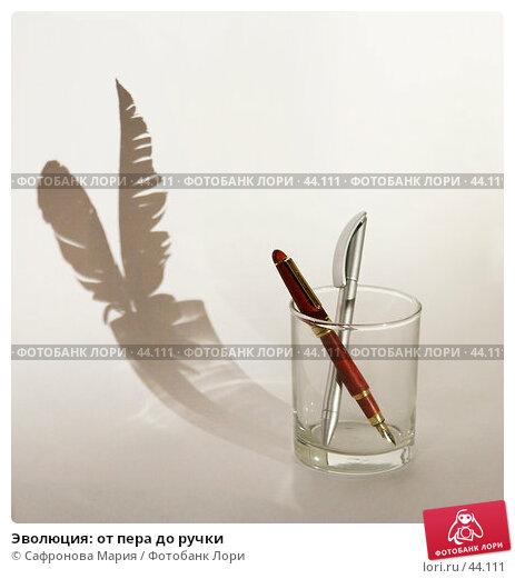 Эволюция: от пера до ручки, фото № 44111, снято 12 мая 2007 г. (c) Сафронова Мария / Фотобанк Лори