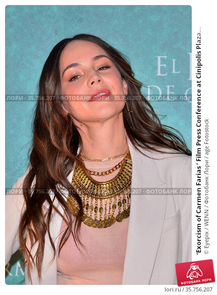 'Exorcism of Carmen Farias ' Film Press Conference at Cinipolis Plaza... Редакционное фото, фотограф Eyepix / WENN / age Fotostock / Фотобанк Лори