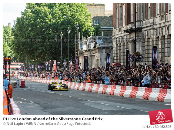 F1 Live London ahead of the Silverstone Grand Prix (2017 год). Редакционное фото, фотограф Neil Lupin / WENN / age Fotostock / Фотобанк Лори