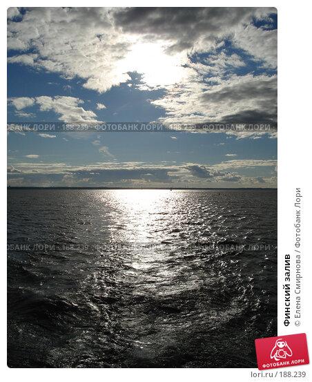 Финский залив, фото № 188239, снято 9 сентября 2007 г. (c) Елена Смирнова / Фотобанк Лори