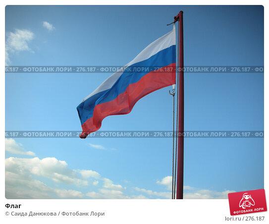 Флаг, фото № 276187, снято 2 мая 2008 г. (c) Саида Данюкова / Фотобанк Лори