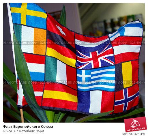 Купить «Флаг Европейского Союза», фото № 328491, снято 16 июня 2008 г. (c) RedTC / Фотобанк Лори