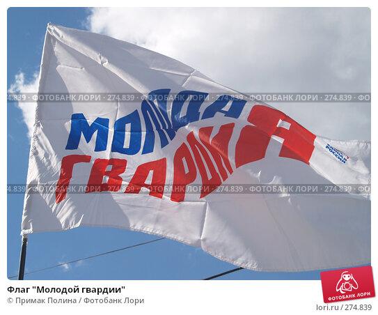 Флаг молодой гвардии, фото № 274839, снято 26 апреля 2008 г. (c) Примак Полина / Фотобанк Лори