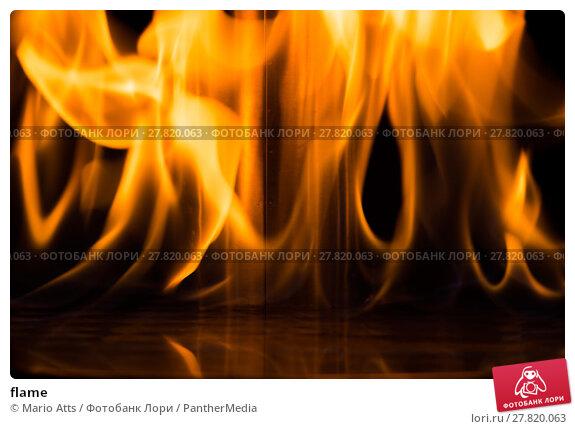 Купить «flame», фото № 27820063, снято 21 февраля 2018 г. (c) PantherMedia / Фотобанк Лори