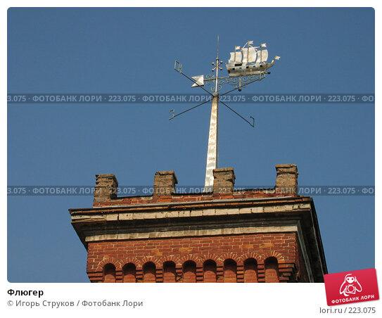 Флюгер, фото № 223075, снято 15 сентября 2005 г. (c) Игорь Струков / Фотобанк Лори