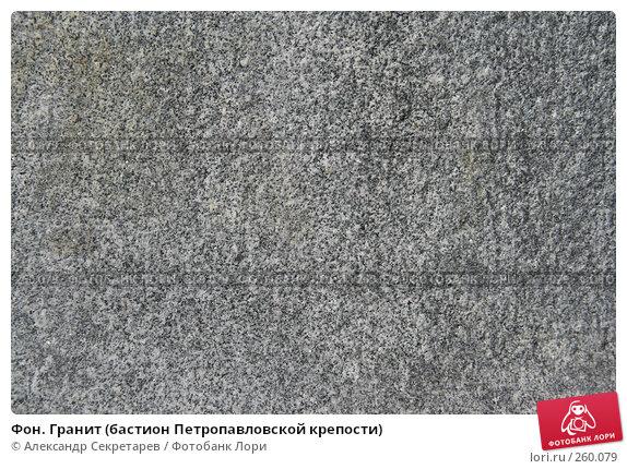 Фон. Гранит (бастион Петропавловской крепости), фото № 260079, снято 5 апреля 2008 г. (c) Александр Секретарев / Фотобанк Лори