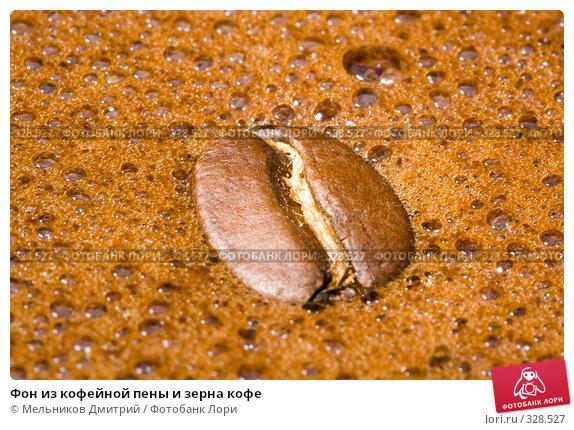 Фон из кофейной пены и зерна кофе, фото № 328527, снято 8 июня 2008 г. (c) Мельников Дмитрий / Фотобанк Лори