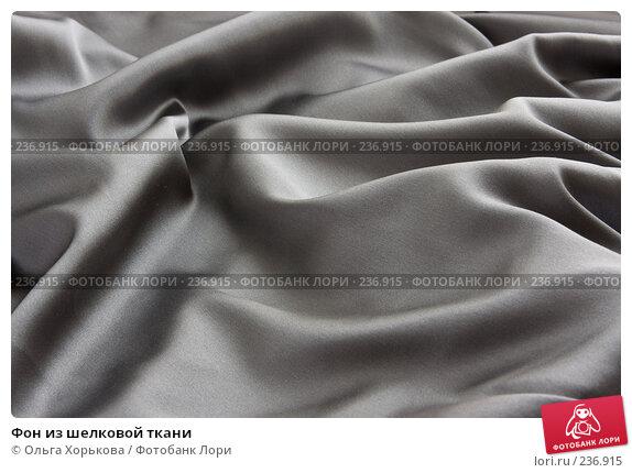 Фон из шелковой ткани, фото № 236915, снято 27 марта 2008 г. (c) Ольга Хорькова / Фотобанк Лори