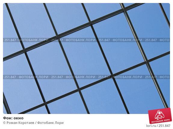 Купить «Фон: окно», фото № 251847, снято 12 апреля 2008 г. (c) Роман Коротаев / Фотобанк Лори