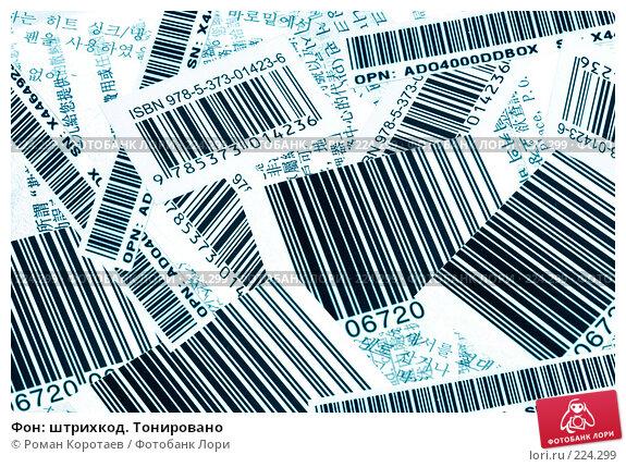 Фон: штрихкод. Тонировано, фото № 224299, снято 16 марта 2008 г. (c) Роман Коротаев / Фотобанк Лори