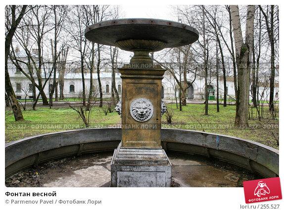 Фонтан весной, фото № 255527, снято 17 апреля 2008 г. (c) Parmenov Pavel / Фотобанк Лори