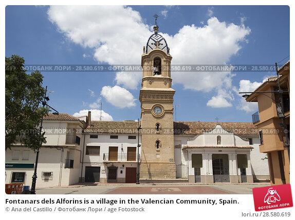 Купить «Fontanars dels Alforins is a village in the Valencian Community, Spain.», фото № 28580619, снято 19 мая 2018 г. (c) age Fotostock / Фотобанк Лори