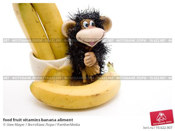 food fruit vitamins banana aliment. Стоковое фото, фотограф Uwe Mayer / PantherMedia / Фотобанк Лори