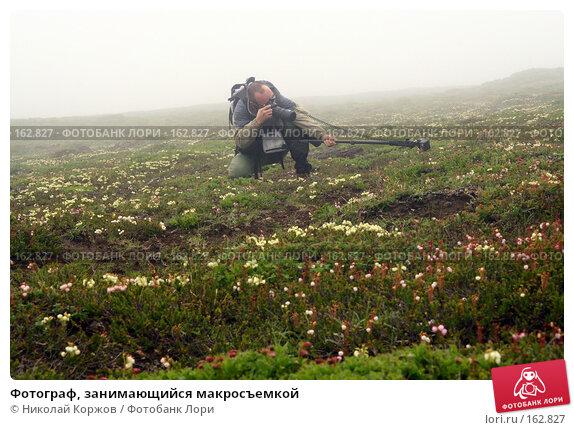 Фотограф, занимающийся макросъемкой, фото № 162827, снято 27 июня 2007 г. (c) Николай Коржов / Фотобанк Лори