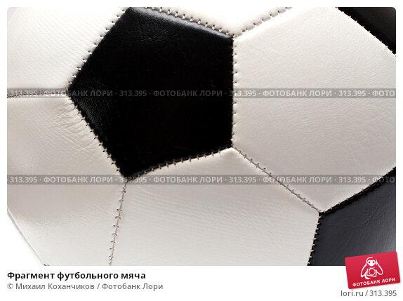 Фрагмент футбольного мяча, фото № 313395, снято 30 марта 2008 г. (c) Михаил Коханчиков / Фотобанк Лори