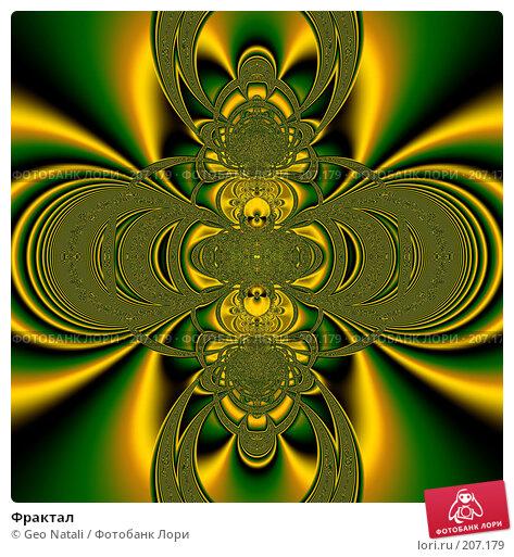 Купить «Фрактал», иллюстрация № 207179 (c) Geo Natali / Фотобанк Лори