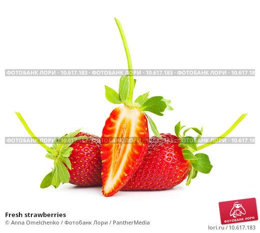 Fresh strawberries. Стоковое фото, фотограф Anna Omelchenko / PantherMedia / Фотобанк Лори