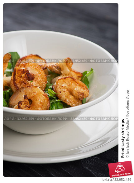 Fried tasty shrimps. Стоковое фото, фотограф Jan Jack Russo Media / Фотобанк Лори