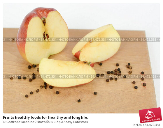 Fruits healthy foods for healthy and long life. Стоковое фото, фотограф Goffredo Iacobino / easy Fotostock / Фотобанк Лори