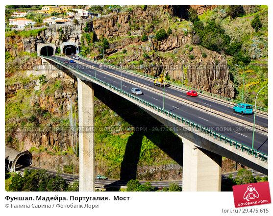 Купить «Фуншал. Мадейра. Португалия.  Мост», фото № 29475615, снято 6 декабря 2013 г. (c) Галина Савина / Фотобанк Лори