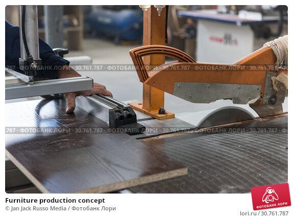 Купить «Furniture production concept», фото № 30761787, снято 27 июля 2018 г. (c) Jan Jack Russo Media / Фотобанк Лори