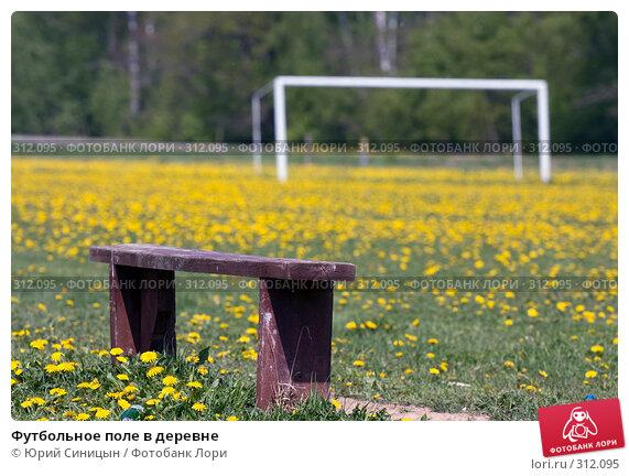 Футбольное поле в деревне, фото № 312095, снято 18 мая 2008 г. (c) Юрий Синицын / Фотобанк Лори