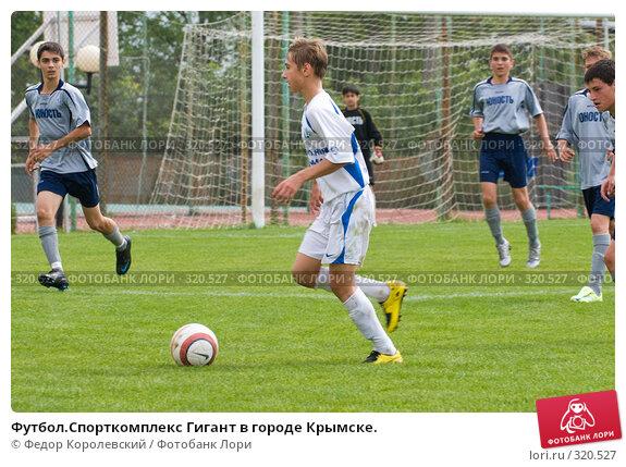 Купить «Футбол.Спорткомплекс Гигант в городе Крымске.», фото № 320527, снято 12 июня 2008 г. (c) Федор Королевский / Фотобанк Лори