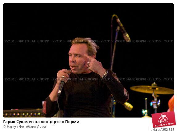 Гарик Сукачев на концерте в Перми, фото № 252315, снято 3 декабря 2016 г. (c) Harry / Фотобанк Лори