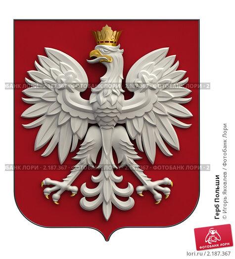 Купить «Герб Польши», иллюстрация № 2187367 (c) Игорь Яковлев / Фотобанк Лори