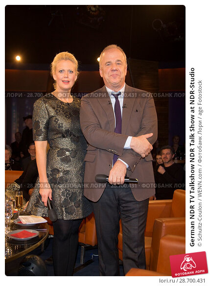Купить «German NDR TV Talkshow NDR Talk Show at NDR-Studio Featuring: Barbara Schoeneberger, Hubertus Meyer-Burckhardt Where: Hamburg, Germany When: 27 Dec 2016 Credit: Schultz-Coulon/WENN.com», фото № 28700431, снято 27 декабря 2016 г. (c) age Fotostock / Фотобанк Лори
