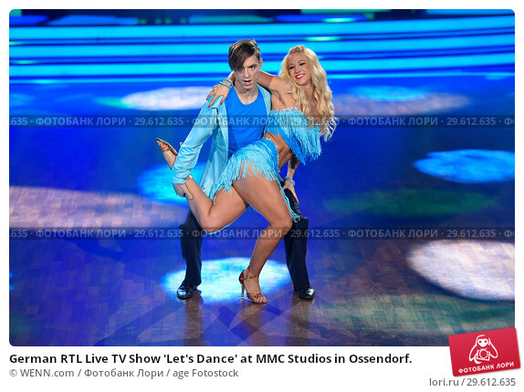 Купить «German RTL Live TV Show 'Let's Dance' at MMC Studios in Ossendorf. Featuring: Heiko Lochmann (Die Lochis), Kathrin Menzinger Where: Cologne, Germany When: 16 Mar 2018 Credit: WENN.com», фото № 29612635, снято 16 марта 2018 г. (c) age Fotostock / Фотобанк Лори