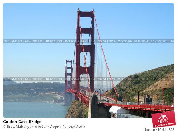Golden Gate Bridge. Стоковое фото, фотограф Brett Mulcahy / PantherMedia / Фотобанк Лори